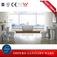 Alibaba manufacture for sale ceramic toilet wc, modern type with good quality and good quality