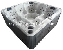 Powerful Air & Water Pumps Outdoor Spa Hot Tub With 140 Jets