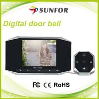 Super display video intercom with door release