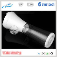 Portable With Compatible USB/TF Mini Bluetooth Dancing Water Speaker