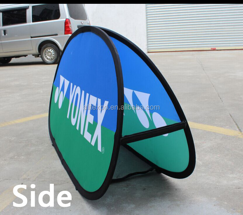alibaba express online shopping outdoor pop up advertising portable sign stand