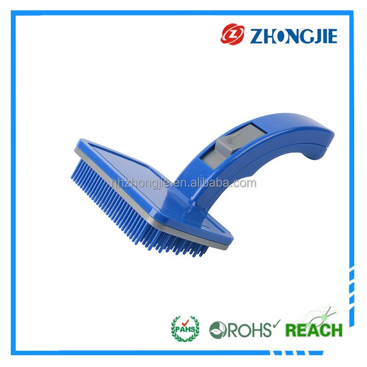 Latest Design Directly Supply Rotating Microfiber Plastic Pet Brush For Dog Horse