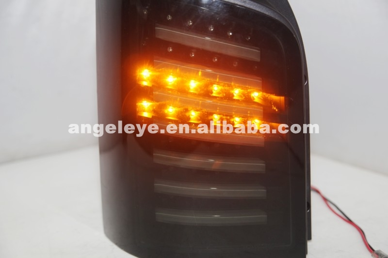 For Volkswagen T5 Caravelle Multivan LED Strip Tail Light Smoke Black 2003-2015 JY