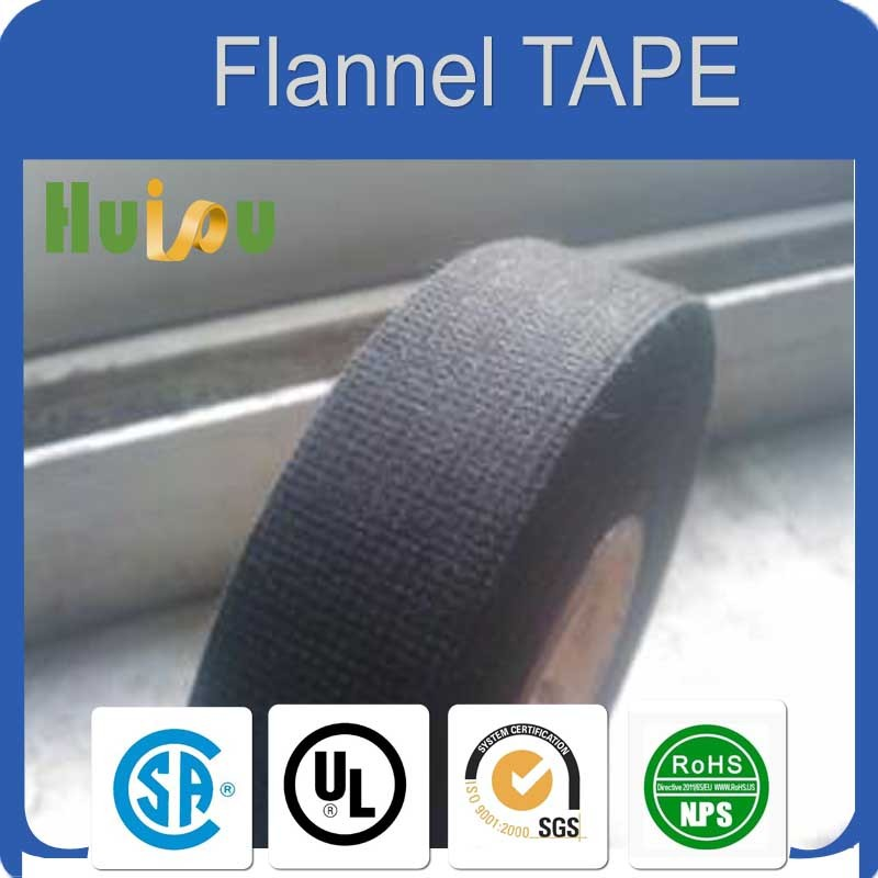 polyester fleece tape 105 degree centigrade excellent abrasion resist