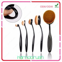 Tooth Makeup Brush,Mermaid Private Label Oval Makeup Brush Set,Makeup Brushes