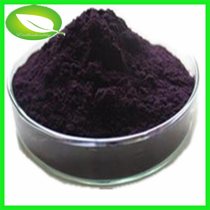 Anti-oxidant herbal oragnic powder high quality bilberry fruit extract