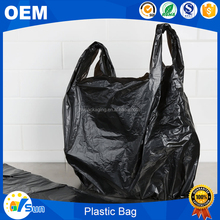 Plastic Type Recyclable Feature Large Size T-shirt Bag
