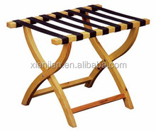 Bulk Stocked hotel room rustic Wood Luggage Racks (XJJD29)