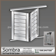 Sombra 68 End fixed Bifold Adjustable shutter