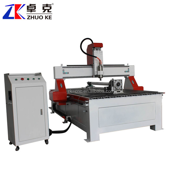 PCI Controller T-slot working table cnc wood router machine 4*8 feet 1325