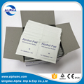 sterile alcohol disinfection cotton pad for surgery and sterilizing