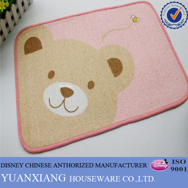 Hot fashion bear pattern pp beach mat