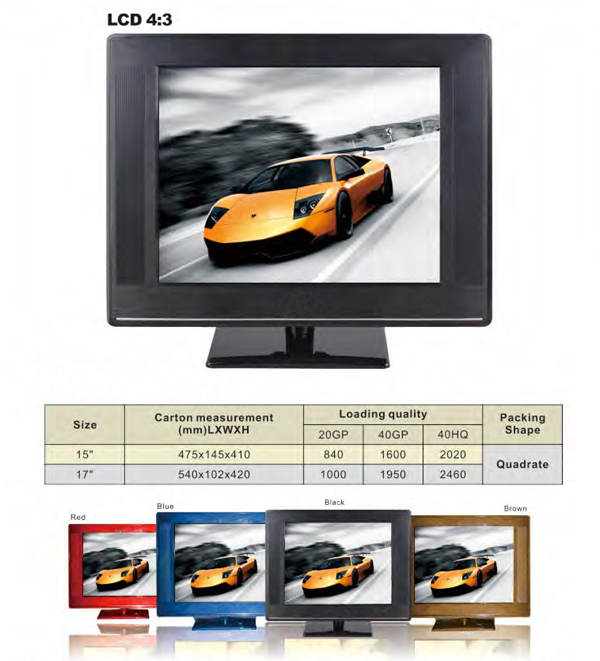 19 Inch LCD TV MSTV59 Manufacturer in china 19 LCD TV