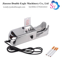 Best selling small home use electronic cigarette tobacco tube rolling filling making machine