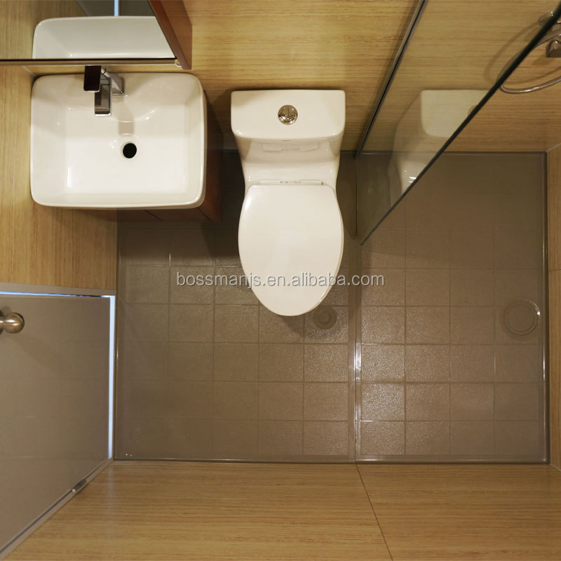 hot sales SMC mobile modular with shower and toilet all in one prefabricated bathroom pod