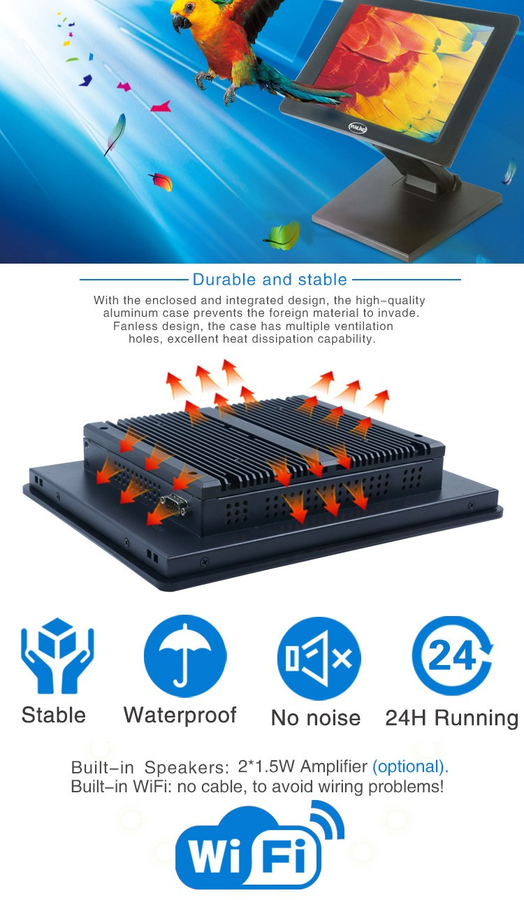 fanless all in one pc