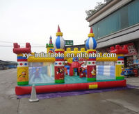 Kids cheap giant inflatable playgrounds, inflatable theme park swindon