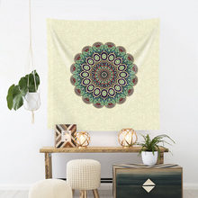 Hippie Indian Mandala Meditation Wall Hanging Tapestry