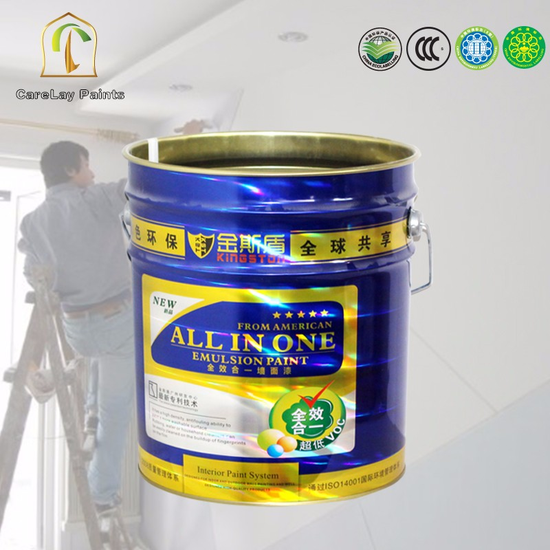 High glass advanced 5 in 1 water based non toxic paint
