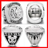 Custom sports Championship rings 2015 Chicago black hawks championship ring for Hockey players