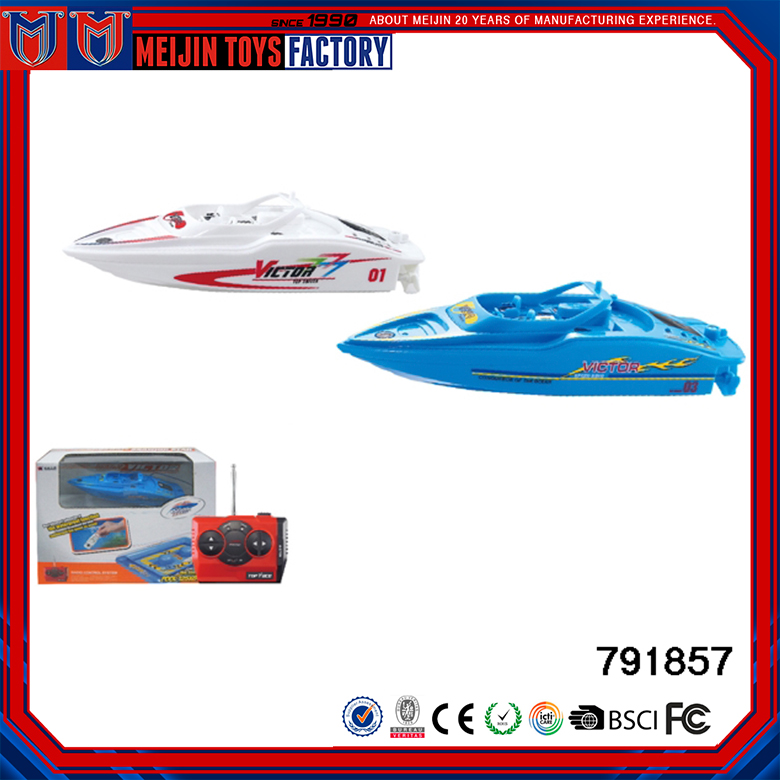 Factory price plastic material brushless speed radio control boat