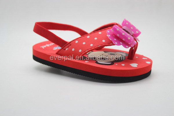 Latest Fashion Girls Sandals Red