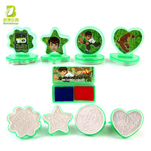BEN 10 Souvenir Stamp Toy Set for Students Plastic Education Toys