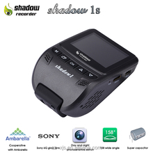 Shadow 1s intelligent night vision hd 1080p inside car security video camera recorder dvr with gps
