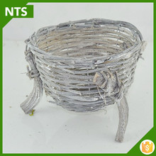 NTS Top Quality Rattan Basket Seed Planter