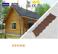 Class A Fire Resistant Nigeria Alu Roof Tiles Shingle