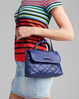 2014 Designer woman quilted pu leather crossbody purse