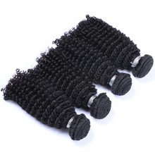 Free sample 10a grade different types of curly weave hair