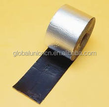 150mm x 10m Peel & stick good quality aluminum bitumen self adhesive flashing tape for sealing & repair