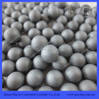 tungsten carbide ball in blank with various grades