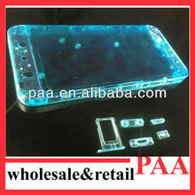 New arrival Transparent back cover for iPhone 5