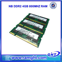 Best price 256mb*8/16c 1 piece pc2-6400s ddr2 800mhz sdram so-dimm 200-pin