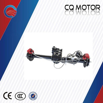 E-golf/E-tricycle 838mm 33 inch Length Auto shift Differential rear Axle with disc brake