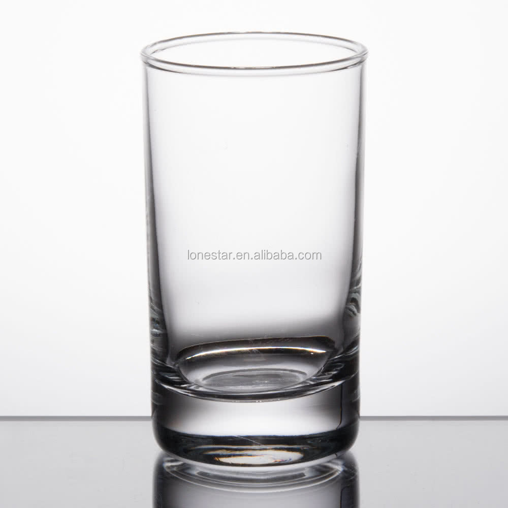 High quality round shape 150ml glass cup,wholesale juice / beer sampler glass