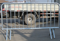 Temporary Galvanized Barricade/Crowed Control Barrier for sale from china supplier