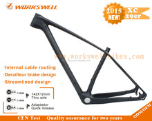 better than mountain bike frame 29 steel, full carbon fiber mtb mountain bicycle frame