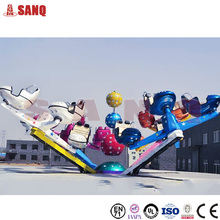 Funfair ride rotating crazy dance, amusement crazy dance ride for sale