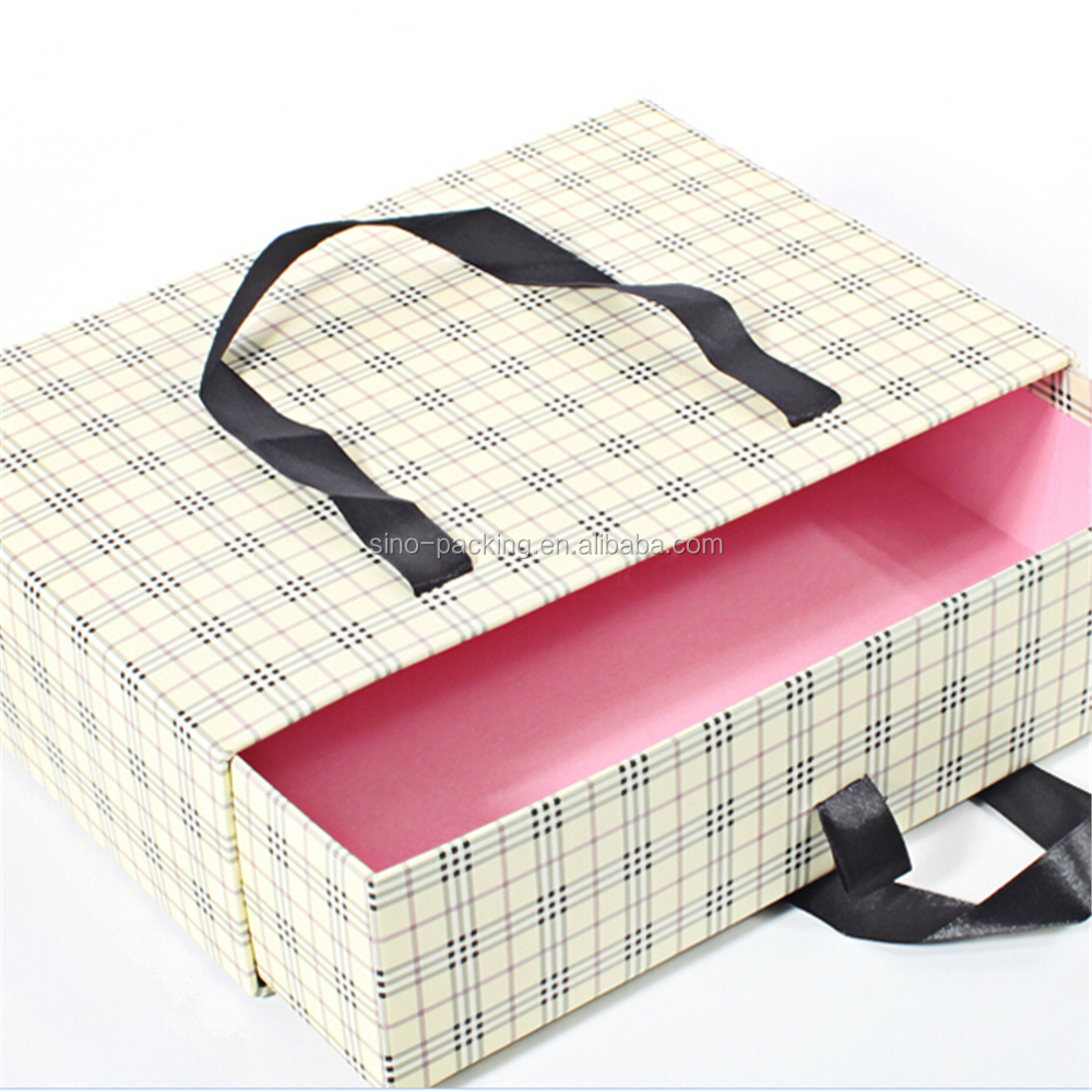 apparel use scarves gift box slide paper package box