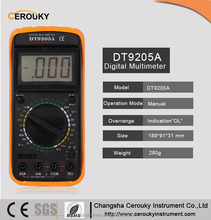 1000V digital multimeter m3900 vc99 DT9205A