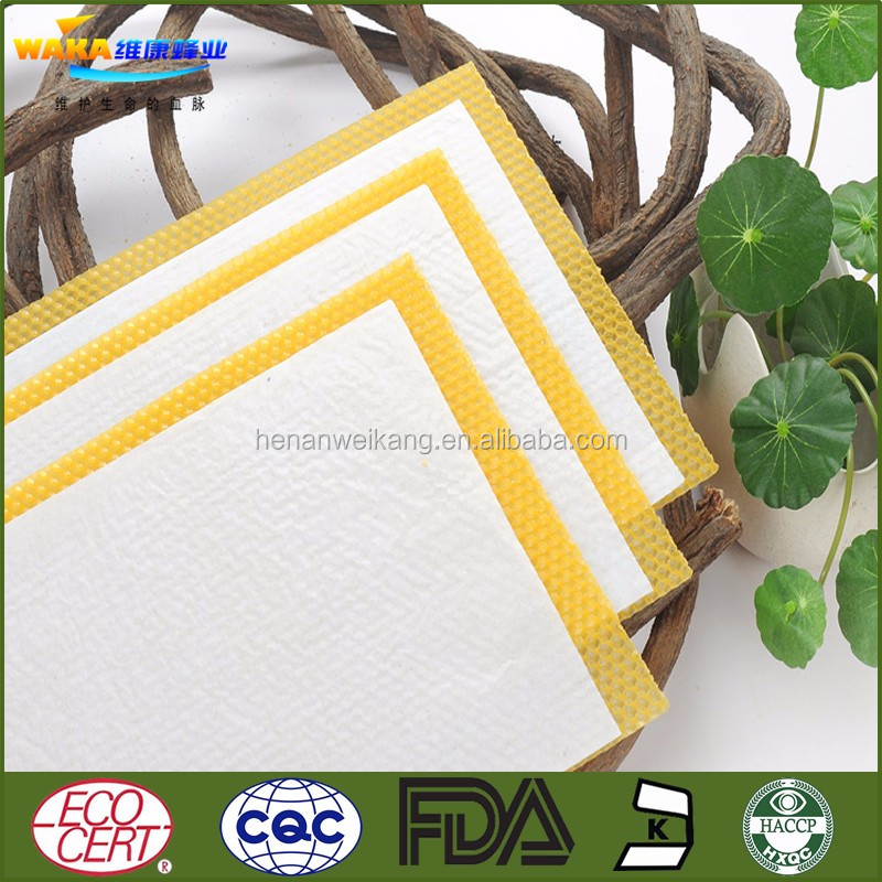 Good bee hive frame sheet / plastic beeswax foundation /heehive foundation sheet(China suppliers)