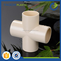 alibaba website online shopping ASTM 2846 cpvc hot water pipe fitting cross tee