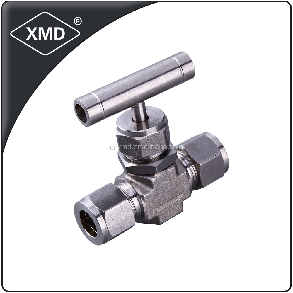 Double Ferrule Equal Needle Valve