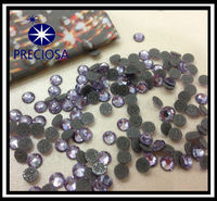 Preciosa hot fix stone tanzanite