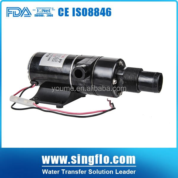 Singflo 12V/24V DC 49.2 L high flow macerator pumps /sewage pump/macerator pump toilet