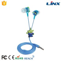 Cheap In-ear mobile phone earphone silicone earphone rubber cover