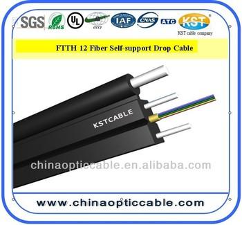 Kst Fiber Optic Cable Drop Cable Yofc Fiber 12 Core Buy